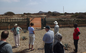 maktau cemetery looking at Maktau hill