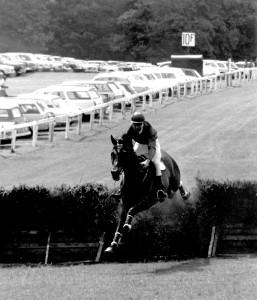 rowland minns  beaujolais open hurdle limuru 3rd 1969 last jump