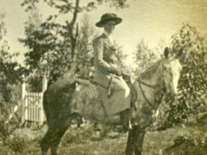 blog nicholls miss donkin on horse back