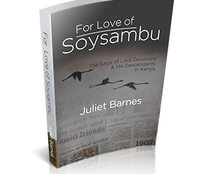 New Book! For Love of Soysambu